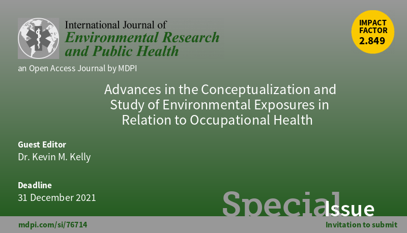 """Advances in the Conceptualization and Study of Environmental Exposures in Relation to Occupational Health"""