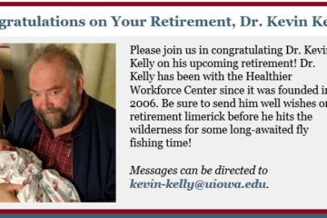 My Retirement Announcement